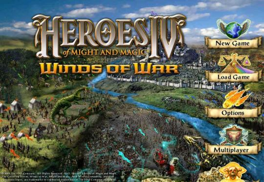 Heroes of Might and Magic IV-1