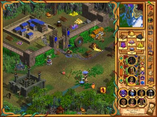 Heroes of Might and Magic IV-4